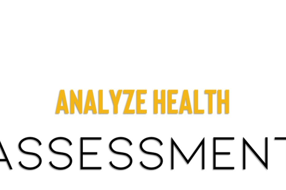 analyze health with assessment
