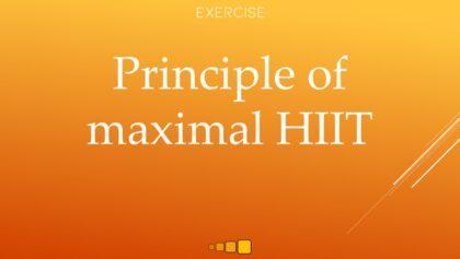 principle of maximal HIIT