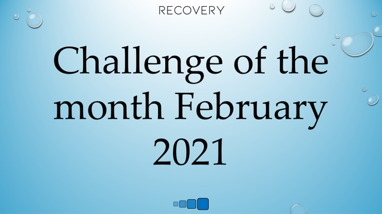 challenge of the month february 2021