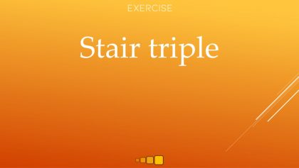 stair triple
