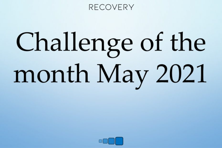 challenge of the month may 2021